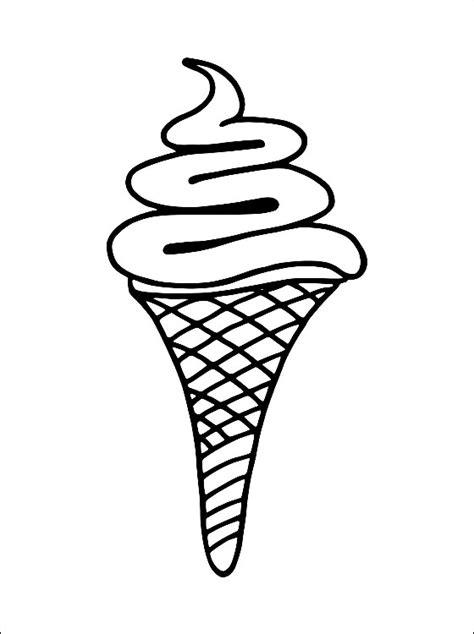 disegni cono gelato da colorare disegni da colorare gelato cono disegni da colorare e