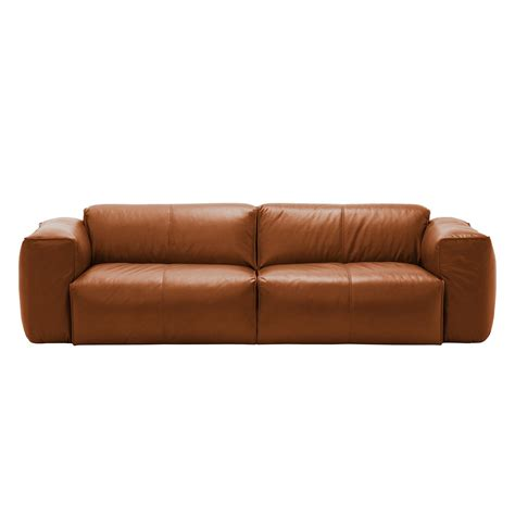 echtleder sofa günstig leder sofa sofa hudson ii 3 sitzer echtleder fashion for home thesofa