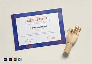 Free 12  Sample Membership Certificate Templates In Pdf