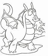 Dragon Coloring Pages Posted sketch template