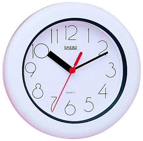 horloge murale 233 tanche pour salle de bain pendule murale 1001 pendules