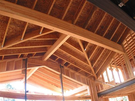 Wooden Roof Construction Details