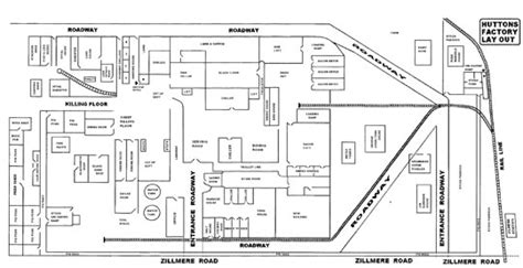 factory floor plan hutton j c hutton pty ltd zillmere Industrial