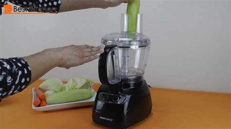 black  decker  cup food processor review youtube