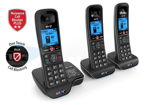 call home phone bt 6600 nuisance call blocker cordless home phone with