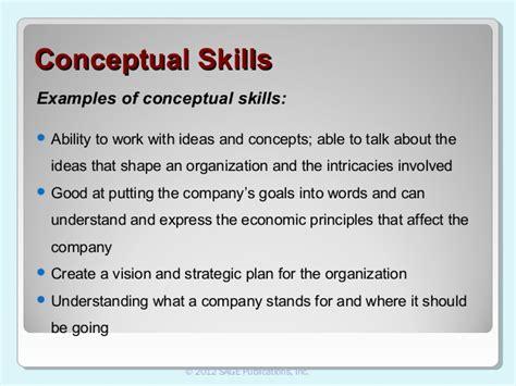 conceptual skills  leadership lottery