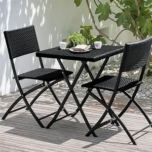 Petite Table De Jardin : petite table de jardin avec 2 chaises table de jardin en ~ Dailycaller-alerts.com Idées de Décoration