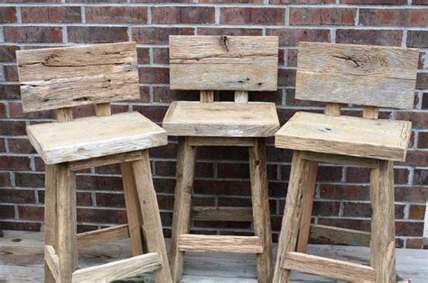 31 Rustic Diy Home Decor Projects: Best 25+ Rustic Bar Stools Ideas On Pinterest