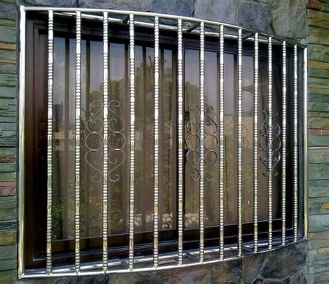 Stainless Window Grill   Society Glass & Gabriel Builders Inc.