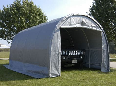 Shed Umbrella Canada by King Canopy Enclosed 10 Foot X 20 Foot Domed Garage Canopy