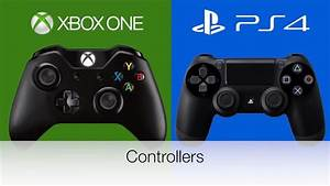 Xbox Vs. Playstation: Controllers - YouTube