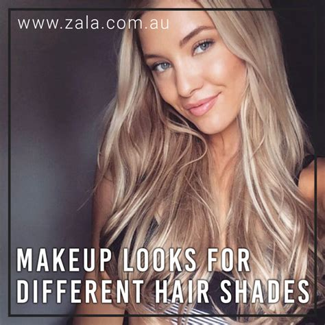 Different Hair Shades by Makeup Looks For Different Hair Shades Zala Clip In Hair