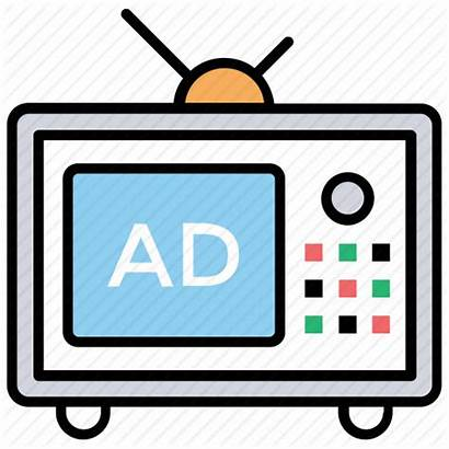 Clipart Ad Icon Commercial Advertisement Television Advert