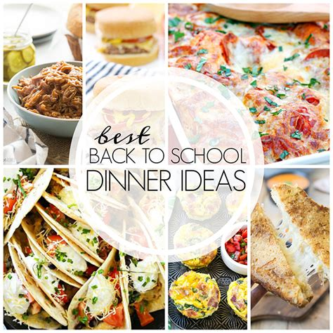 the best dinner recipes best easy back to school dinner ideas wishes and dishes