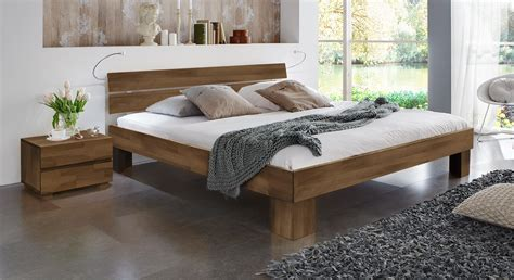 Massivholzbett Lucca Komfort Als Einzel Oder Doppelbett