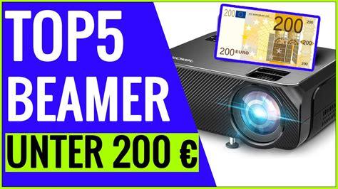 TOP5 bester BEAMER unter 200 EURO im Test (2021) - YouTube