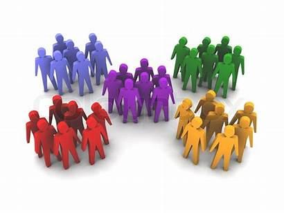 Groups Different Menschen Gruppen Verschiedene Grupper Forskellige