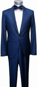 Hochzeitsanzug Herren Blau : herren hochzeitsanzug schalkragen anzug blau gr e 50 k ln ~ Frokenaadalensverden.com Haus und Dekorationen