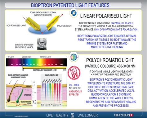 bioptron light therapy booklet color light theraphy set for bioptron pro1