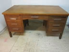 antique oak teacher 039 s desk circa 1930 039 s 1940 039 s