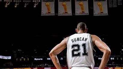 Duncan Tim Spurs Nba Antonio San Kawhi