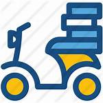 Icon Transport Bike Delivery Scooter Cargo Premium