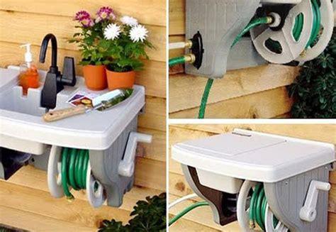 backyard water station home design garden