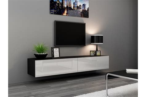 chambre desing meuble tv design suspendu vito 180cm design