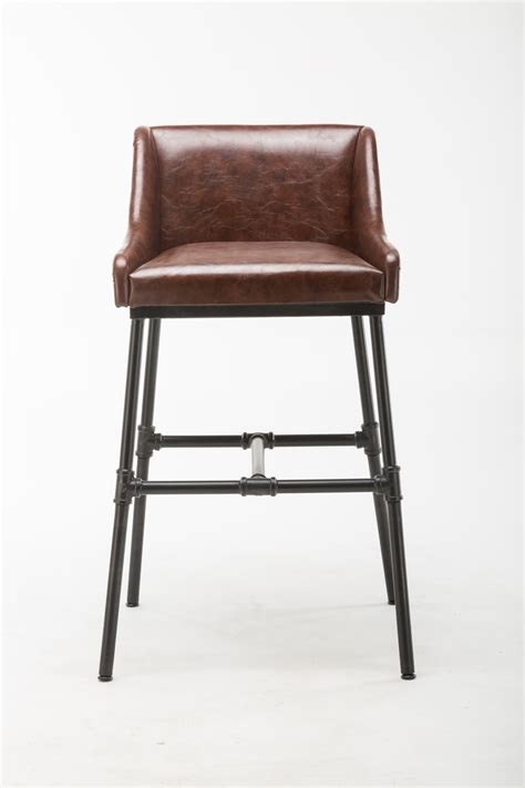 parlor upholstered bar stool boraam industries