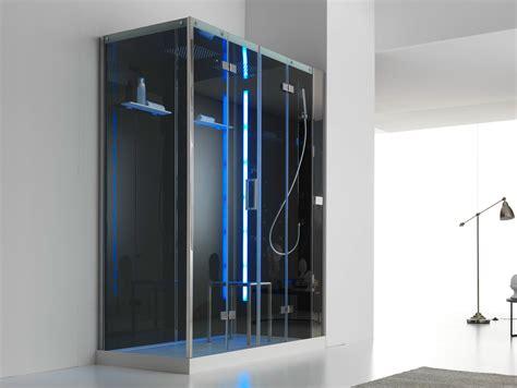 box doccia con idromassaggio box doccia multifunzione in acciaio e cristallo con