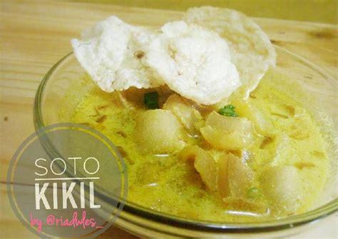 Bahan soto mie kikil : Resep Soto Kikil oleh RIA DL - Cookpad