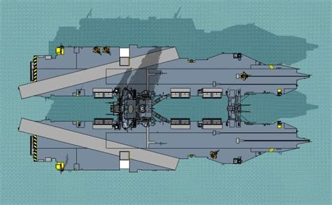 Catamaran Aircraft Carrier Design by Future Aircraft Carrier Concepts From The Bow And Stern