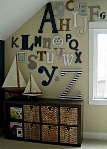 playroom wall decor ideas with wall letters html With wall letters for kids room