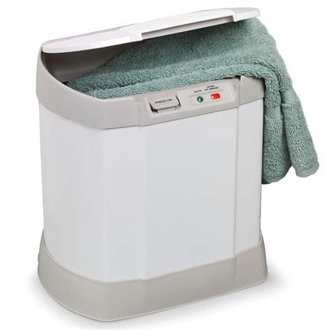outdoor heater the personal towel warmer hammacher schlemmer