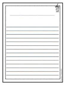 Printable 2nd Grade Writing Paper Template