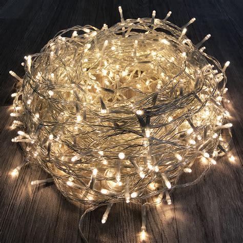Lichterketten Led Innen by 600 Er Led Lichterkette Innen Und Au 223 En Warmwei 223 Real