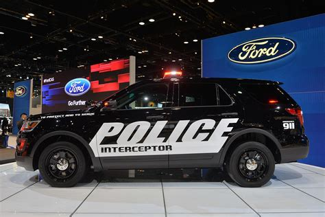 2018 Ford Interceptor Police Suv Utility Vehicle Wallpaper