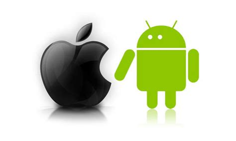 iphone versus android iphone vs android showdown