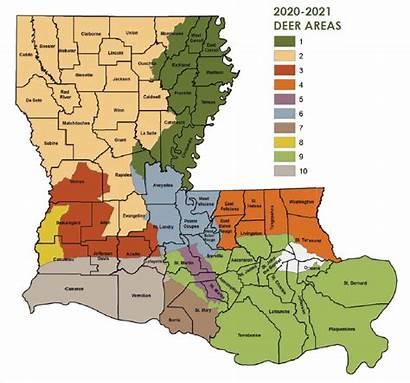Louisiana Hunting Deer Seasons 2021 Primitive Hunt