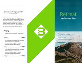 Example Brochure Template Free