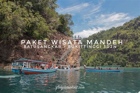 paket wisata pulau sumbar mandeh bukittinggi dn jelajah