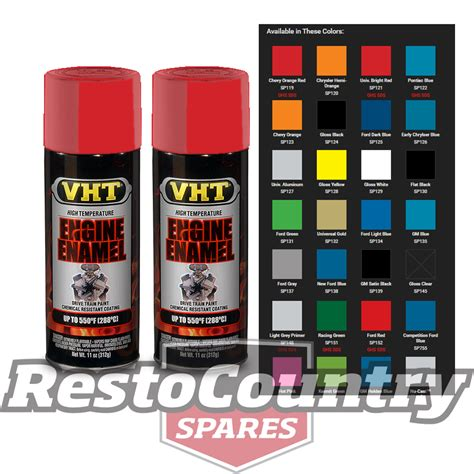 high temp paint colors vht high temperature spray paint engine enamel bright