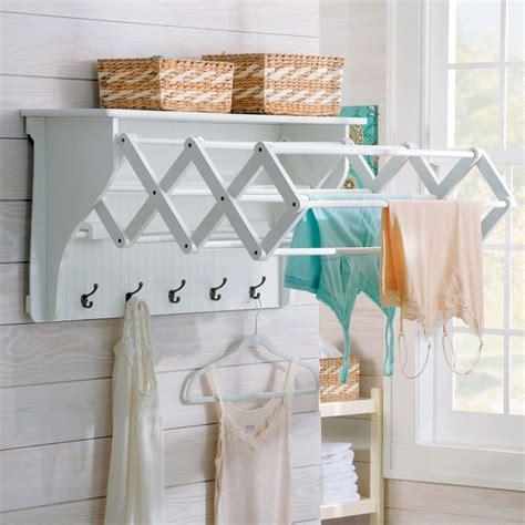 accordion drying rack wall mount 5 space saving drying racks that actually look cool