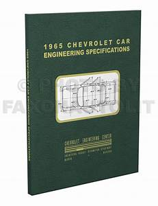 1965 Chevelle  U0026 El Camino Factory Reprint Assembly Manual