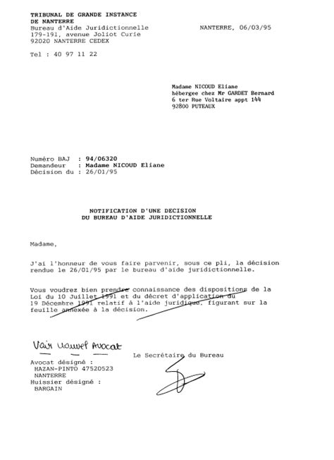Bureau Aide Juridictionnelle Nanterre  Images Armoire Bebe Pas Cher  Images Indogate
