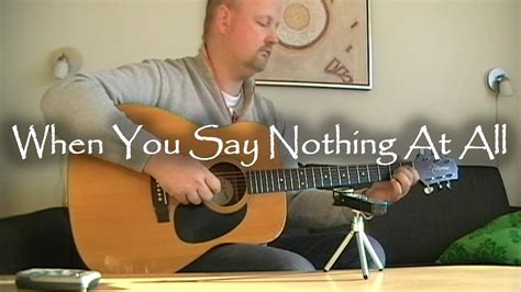 When You Say Nothing At All: When You Say Nothing At All - Ronan Keating