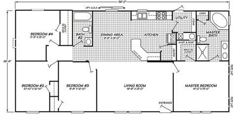 1995 fleetwood mobile home floor plans 1995 fleetwood mobile home floor plans home design and style