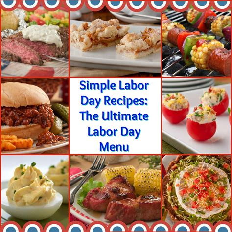 id馥 cuisine simple 24 simple labor day recipes the labor day menu mrfood com