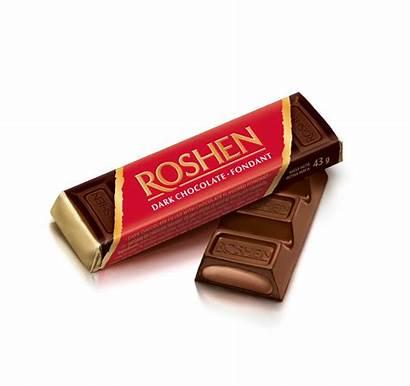 Roshen Chocolate Bar Brandy Flavoured Filling 43g