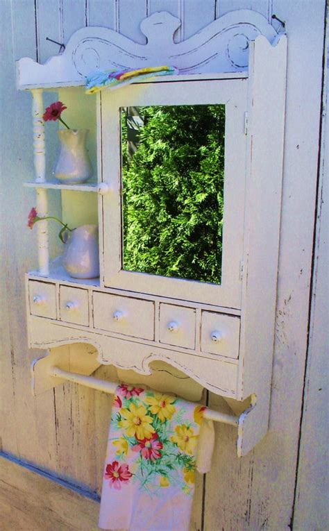 shabby chic medicine cabinet medicine cabinet white shabby chic furniture by backporchco